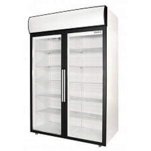 Шкаф Polair DM114-S холодильный распашные стеклянные двери