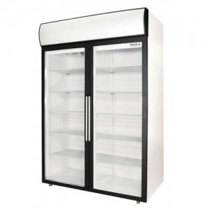 Шкаф Полаир холодильный фармацевтический ШХФ-1,4ДС дверь стекло с опциями