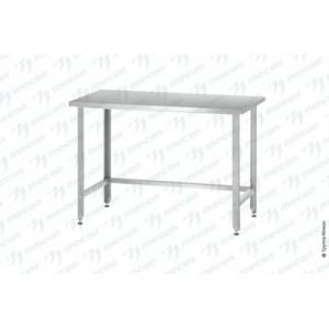 Стол производственный СПРн - 600*700*860 Norma Zn с полкой-обвязкой
