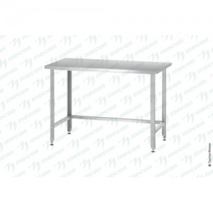 Стол производственный СПРн - 800*700*860 Norma Zn с полкой-обвязкой