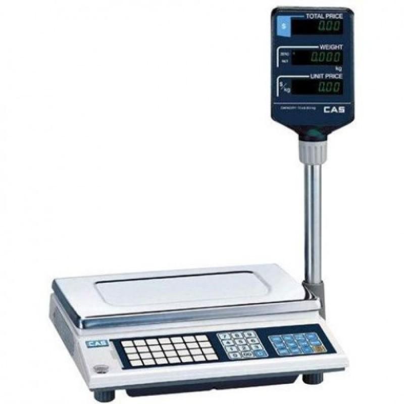 Весы CAS AP-15EX ВТ электронные торговые со стойкой до 15 кг