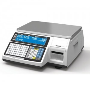 Весы CAS CL3000-30B с печатью этикеток без стойки