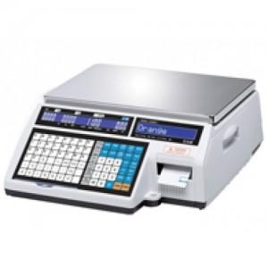 Весы CAS CL5000J-06IB с печатью этикеток без стойки