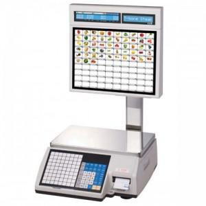 Весы CAS CL5000J-15IS с печатью этикеток самообслуживания