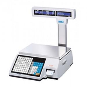 Весы CAS CL5000J-30IP с печатью этикеток со стойкой