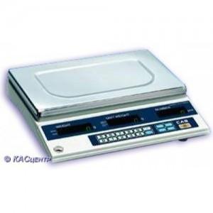 Весы CAS CS- 5 счетные электронные до 5 кг